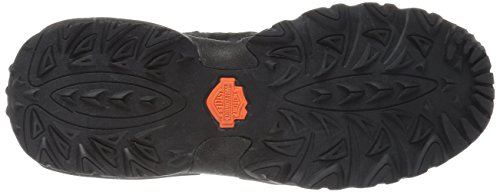 Scarpa Da Passeggio Uomo Jett Harley-davidson Nero / Arancione