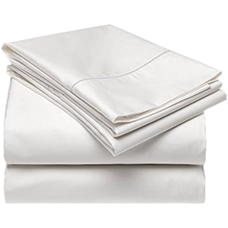 Gotcha Covered 18 Pocket Tencel Sheet Set Split Cal King Pearl Color