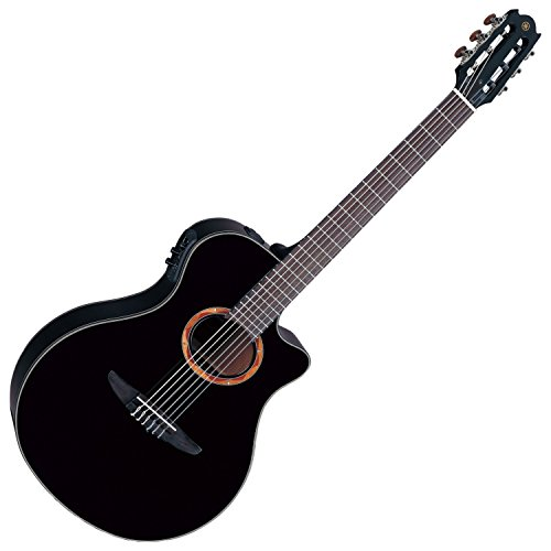 Used, Yamaha NTX700BL Acoustic Electric Classical Guitar, for sale  Delivered anywhere in USA