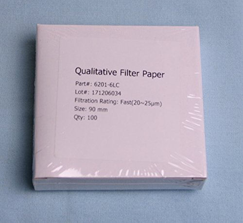 Eisco Labs Qualitative Filter Paper Pack of 100 11cm