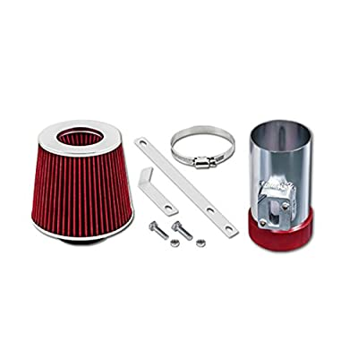 Velocity Concepts Red Short Ram Air Intake Kit + Filter 04-11 For Ford Crown Victoria 4.6L V8 06-09 Fusion 3.0L V6: Automotive