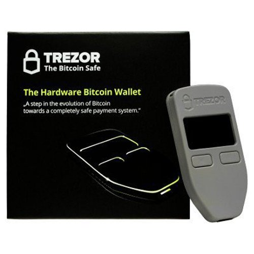 Trezor TREZOR One, Grey (Best Hard Wallet For Cryptocurrency)