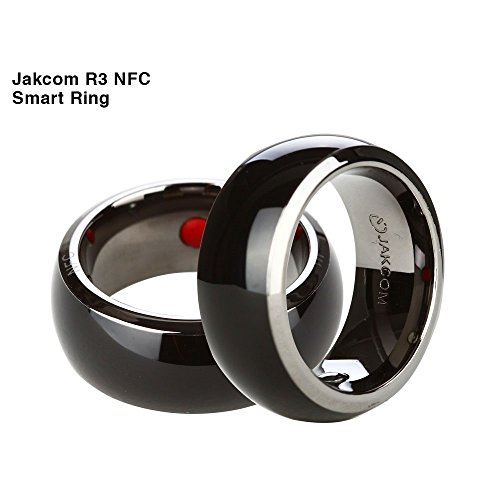 Jakcom R3 NFC Smart Ring Electronics Mobile Phone Accessories compatible with Android IOS SmartRing Smart Watch (9#) by Jakcom