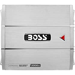 BOSS AUDIO CHM2000 CHAOS 2000-Watt Monoblock, Class A/B 2 to 8 Ohm Stable Monoblock Amplifier with Remote Subwoofer Level Control