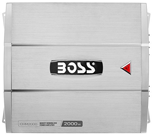 Price comparison product image BOSS AUDIO CHM2000 CHAOS 2000-Watt Monoblock,  Class A / B 2 to 8 Ohm Stable Monoblock Amplifier with Remote Subwoofer Level Control