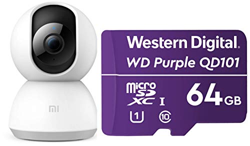 MI Wi-Fi 1080p Full HD 360° Viewing Area Smart Security Camera
