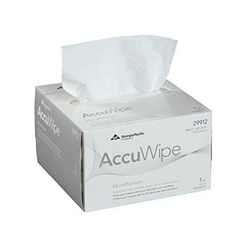 georgia-pacific-accuwipe-micropremium-29912-white-1-ply-delicate-task-wipers-4-1-2-width-x-8-1-4-len