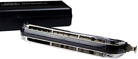 Swan 16 hole 64 tone Chromatic Harmonica C Tone Harmonica for Children Beginner Musical Beginner Education Boat shape Harmonica