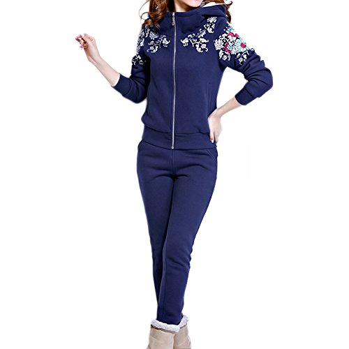 Angkel Womens Lady's Keep Warms Sports Sweat Hoodies SweatPants Sweatsuit by Angkel