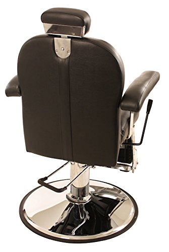 All Purpose Hydraulic Reclining ''Chester'' Barber Chair by CCI Beauty - Salon Beauty Spa Shampoo Equipment Furniture by CCI Beauty (Image #2)