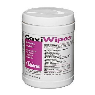 (CaviWipes Metrex Disinfecting Towelettes Canister Wipes, 160 Count)