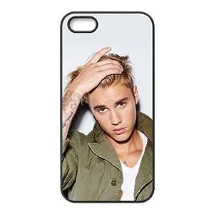iPhone 4 4s funda Negro [KHOAOKOFK5668] CUSTOM Justin Bieber el tema el iPhone 4 4s funda