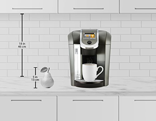 Coffee Maker With Hot Water On Demand : Keurig K575 Single Serve Programmable K-Cup Coffee Maker with 12 oz Brew Size and Hot Water on ...