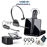 Plantronics CS540 Convertible Wireless Headset Bundle with SAVI HL10 Handset Lifter
