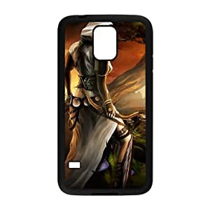 fantasy archer Samsung Galaxy S5 Cell Phone Case Black Custom Made pp7gy_7203506