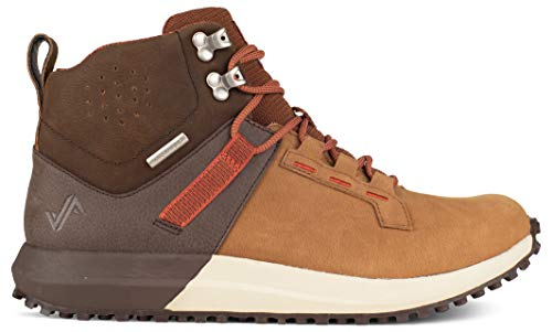 Forsake Range High - Men's Waterproof Leather Approach Sneaker Boot (14 D(M), Brown/Tan)