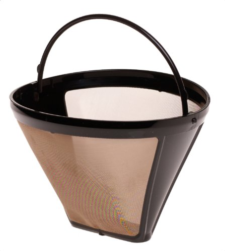 Capresso 750.09 Size-4 Cone GoldTone Filter by Capresso