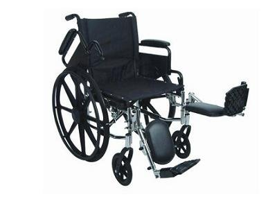 Stylish Ultralight Extra Wide Adult Wheelchair - 20 x 16 (Tipper Anti E&j)