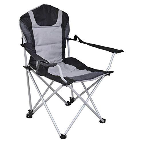 Stark Item Portable Fishing Camping Chair Seat Cup Holder Beach Picnic Outdoor Folding Bag (Beach Me Umbrella Near)