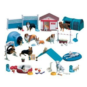 Constructive Playthings Dog Academy 51 pc. Playset - 410VBq54 2ByL - Constructive Playthings Dog Academy 51 pc. Playset