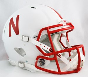 NCAA Riddell Nebraska Cornhuskers Revolution Speed Full-Size Authentic Football Helmet -