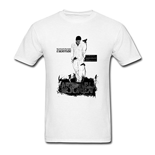 ShiDan Men's Armin Van Buuren Who Is Watching T-Shirts Size L White (Ninja Turtles Who Is Who)