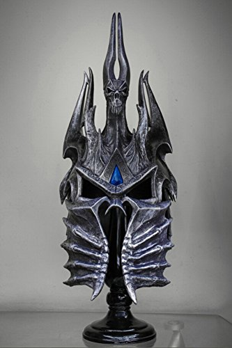 Gmasking World of WarCraft Lich King Arthas Wearable Helmet Helm 1:1 Replica - World Of Warcraft Arthas Costume