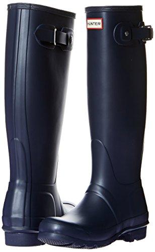 Hunter Hunter Donna Nvy Tall Stivali Blu Navy Gomma di Original FrBqwF