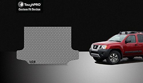 - ToughPRO Cargo/Trunk Mat Compatible with Nissan Xterra - All Weather - Heavy Duty - (Made in USA) - 2008, 2009, 2010, 2011, 2012, 2013, 2014, 2015