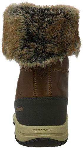 Columbia Bangor Omni-Heat, Botas de Nieve Para Mujer Marrón (Elk/ Rusty)