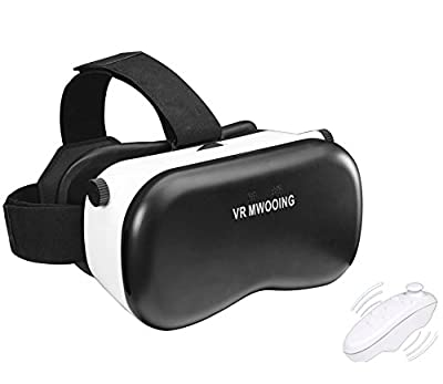 3D VR Virtual Reality Glasses Headset , Suitable for Google, iPhone, Samsung Note, LG, Huawei, HTC, Moto screen smartphone