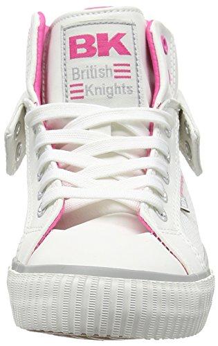 British KnightsRoco - Zapatillas Mujer Blanco - blanc (White-Fuchsia 01)