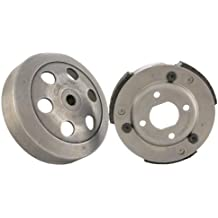 Malossi 5214111 - M5214111 Fly Clutch and Bell Kit For Honda Dio / Elite AF16 Motor also fits Vespa ET2 and ET4