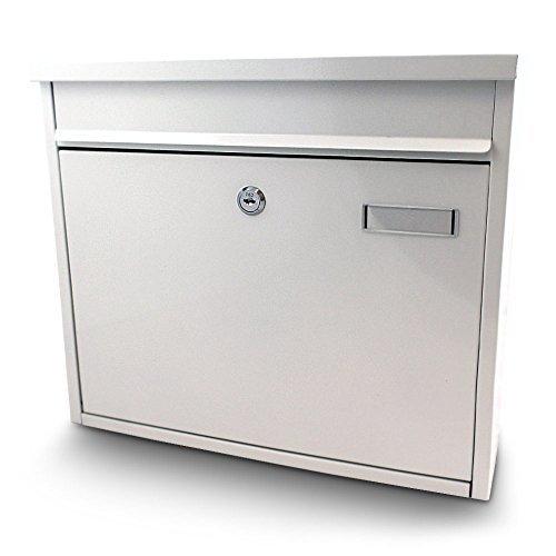 Briefkasten Postkasten Mailbox Letterbox Wandbriefkasten Postbox Weiß