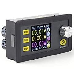 Pattern Name: Numerical Control DC 6-55V to 0-50V 5A Step Down Stabilized Power Supply Features:  Input voltage: 6-55V Output voltage: 0V-50.00V Output current: 0-5.000A Output power: 0-250W Weight: 113g Size: 79 x 43 x 48mm Cutting size: 71 ...