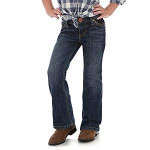 Wrangler Girls' Retro Stretch Boot Cut Jean