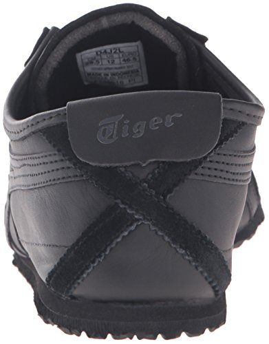 Mens Noir Asics Onitsuka Mexico Tigre 66 Chaussures z6g6qF