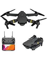 $39 » Drone with Camera for Kids and Adults 1080P HD FPV Live Video, RC Quadcopter Helicopter Toys Gifts for Kid, One Key Start, Gravity Control, Altitude Hold, Headless Mode, Waypoints Functions