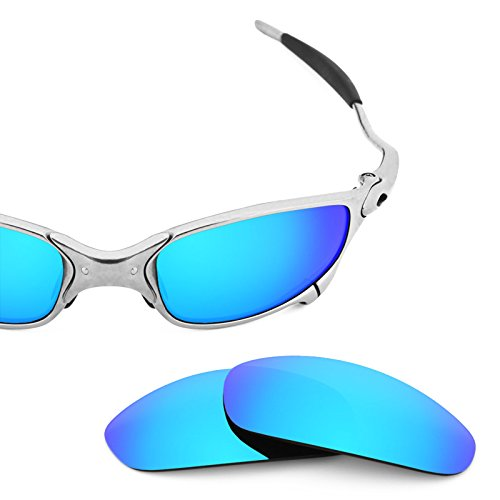Revant Polarized Replacement Lenses for Oakley Juliet Ice Blue MirrorShield