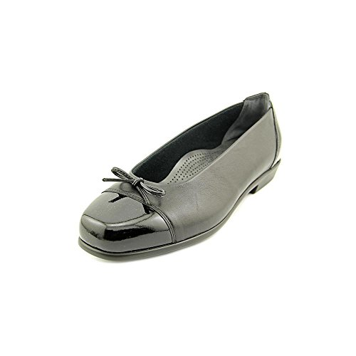 Flats Slip Women's Coco On Black Bow SAS waSpTqZI