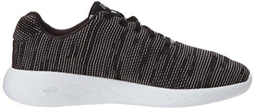 Skechers Heren Gaan Draaien 600 Te Verkrijgen Sneaker Zwart / Wit