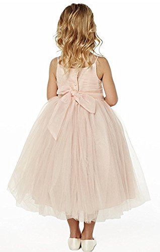 ac14a3b44e1 princhar Tulle Flower Girl Dress Junior Bridesmaids Dress Little ...