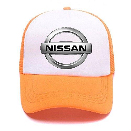 for D66KA2 de Women Car Logo Boy Orange Hat Baseball Men Trucker Caps Girl Gorras Niss Béisbol favqwEH