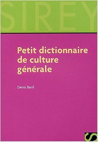 En ligne téléchargement gratuit Petit dictionnaire de culture générale epub, pdf