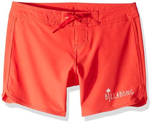 "Billabong Girls' Girls' Sol Searcher 5"" Boardshort Sunset Red 8"