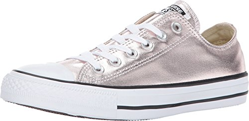 - Converse Womens Chuck Taylor All Star Ox Rose Quartz White Canvas Trainers 37.5 EU