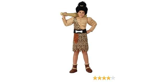 Atosa - Disfraz de cavernícola para niño, talla 7-9 años (15862 ...