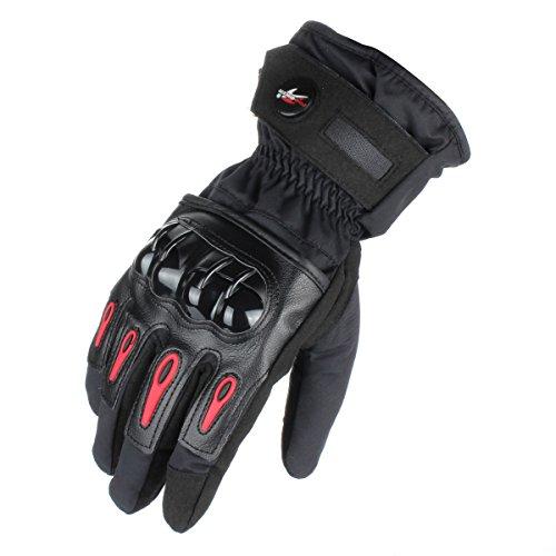 Waterproof Motorbike Gloves - 4