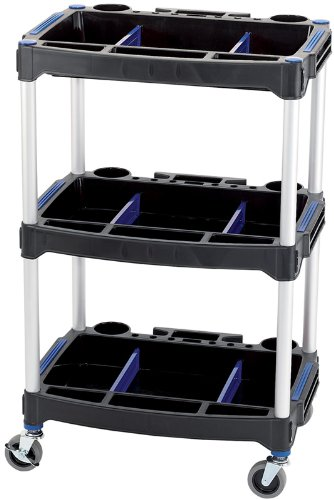 Draper 04612 3-Tier Workshop Trolley