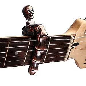 Dinapy Cejilla Guitarra Española Calavera Electricas Clásica ...